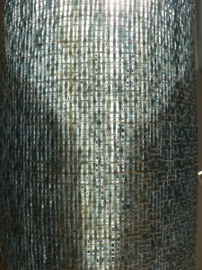 Detail of woven vessel