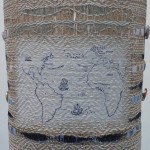 'Trade Routes' - Work made for 'Mapping The Future' - exhibition by Textile Forum Southwest