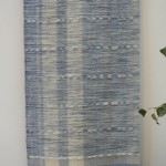 'Summer Sky' - Wallhanging - woven and dyed.